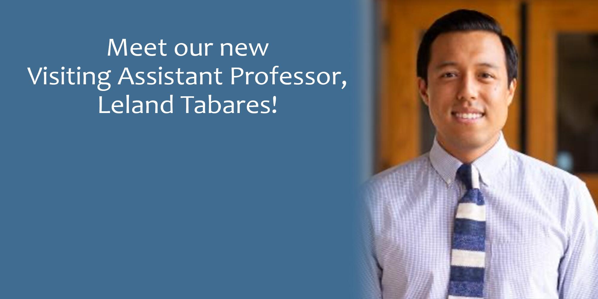 Photo of Dr. Tabares